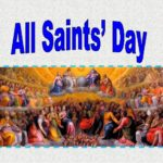 All saints' day in the country
