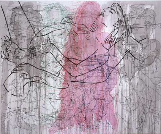 Brooklyn museum: ghada amer to make use
