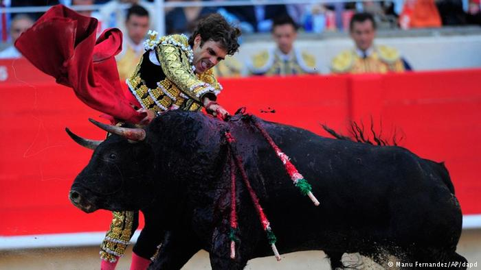 Bullfighting in the country – music on the planet The bull may be