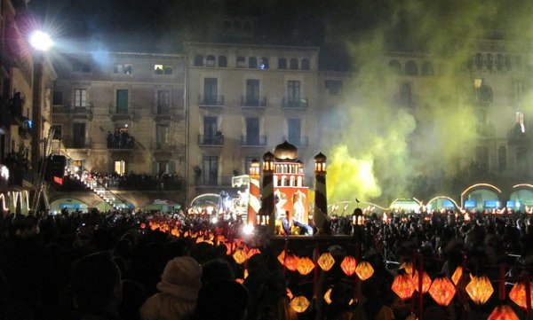 christmas traditions in Barcelona