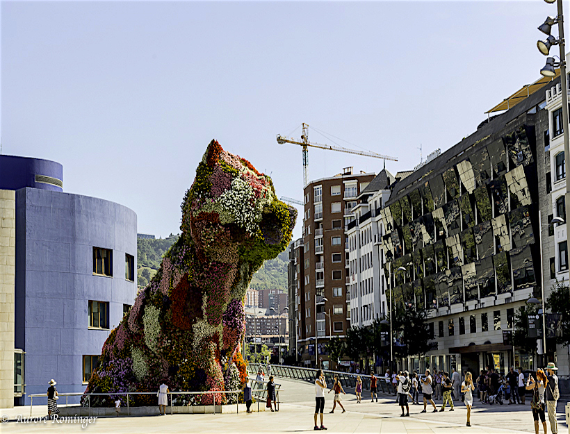 Guggenheim bilbao - spanish culture the town of