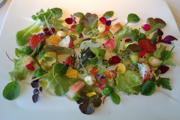 Vegetable Hearts Salad