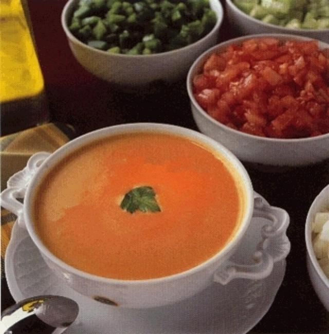 Real spanish gazpacho from the country recipe - food.com Made                   Rinse well