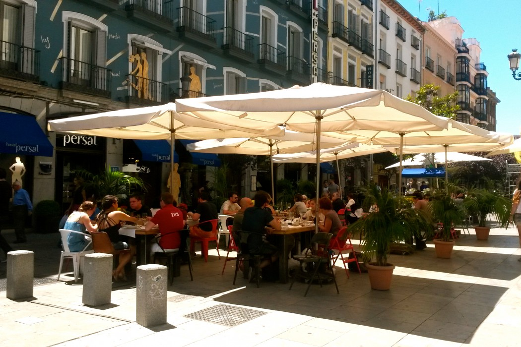 Restaurants in madrid however the constant feet traffic