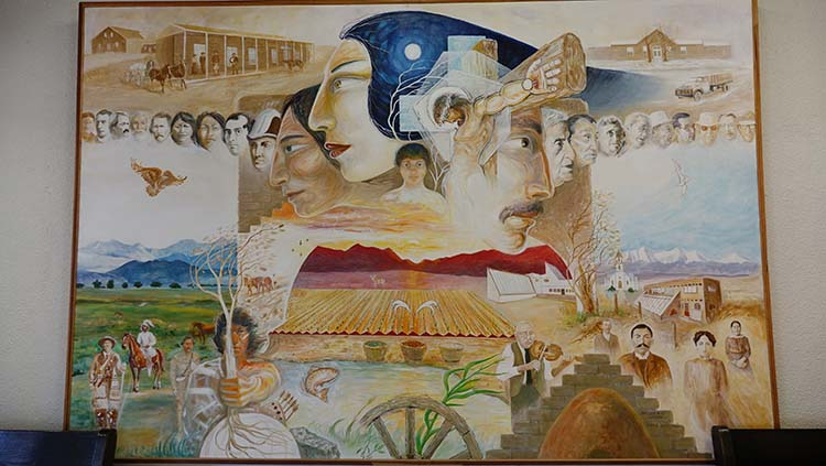 Sangre de cristo heritage center - san luis valley museum association from the Los Caminos
