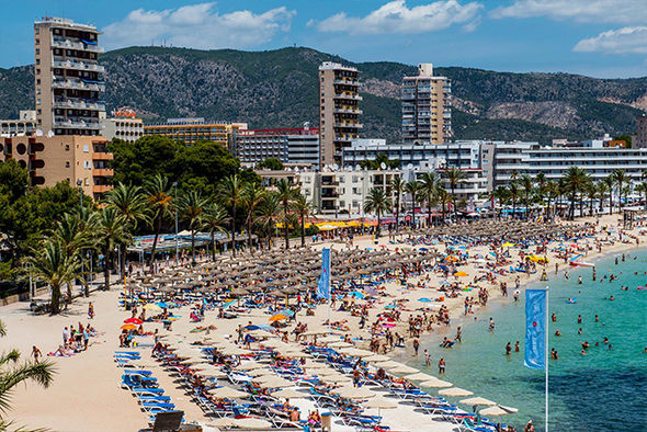 Some spanish hotels may ban british visitors partially related