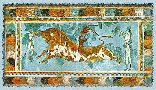 Knossos bullfighting