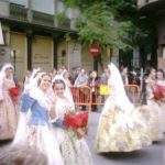 The fires (las fallas) and paella of valencia, the country
