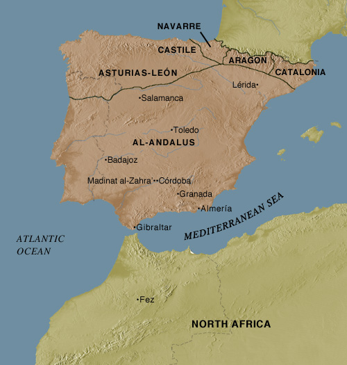 The skill of the umayyad period in the country (711–1031) around the Iberian